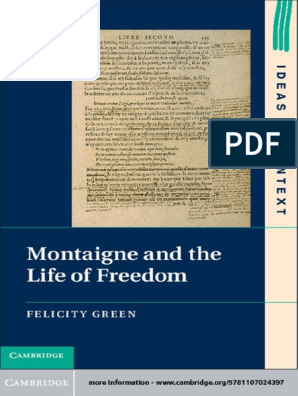 Green, Felicity Montaigne and the life of freedom.pdf | Essays ...