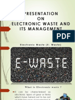 E- Waste Management