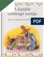 Pettson és Findusz - A kandúr szülinapi tortája