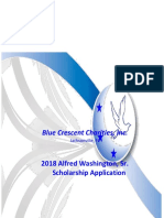 2018 Alfred Washington Scholarship Application-Update (1)