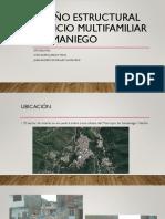 Diseño Estructural Edificio Multifamiliar - Samaniego