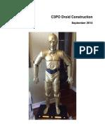 C3PO Droid Construction 09-26-2014
