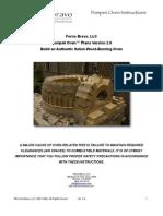 Pompeii Oven Plans2.0