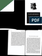 Adorno, Th. - Discurso sobre poesia lírica y sociedad