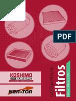 Catalogo Filtros 2018