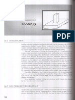Footings Soil Pressure