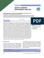 Penetrating Injury in Pediatric