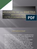 Aplicación de La Simetria y Antisimetria en Costrucciones
