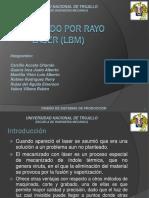 MAQUINADO Y CORTE POR RAYO LASER (LBM).pptx