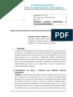 Sobreseimiento Alfonso Levau Cordova- Modificado