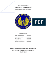 Perpajakan Internasional - Kelompok7 - Tugas #1