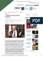11 Picks From Warren Buffett's Bookshelf
