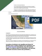 El Peru Hay Dos Placas y Se Encuentran En