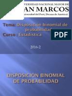 Disposición Binomial de Probabilidad