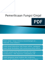 baru Pemeriksaan Fungsi Ginjal 2018 dr. Ninik.pptx