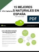 Los 15 mejoros parques naturales de España