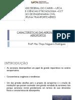 Aula 2 - Caracteristicas Das Aeronaves e Aeroportos