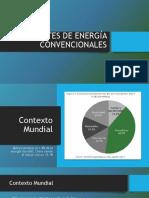 Fuentes de Energía Convencionales