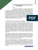 La Psicología Anticristiana, Antihumanista y Posmoral de F. Nietzche y Su Influencia en El Psicoanálisis