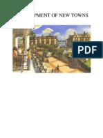 Development of New Towns