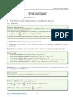 Polynômes
