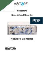 Commscope - M0121AAM_Node_A_HW - User Manual