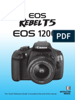 Canon Reference Manual