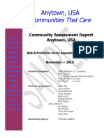 #5 Community Assessment Report Sample