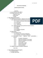Estructura de Plan de Marketing General