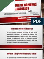 METODO CONGRUENCIAL LINEAL UOTAVALO