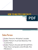 How to Multiple Our Sales