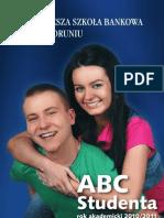 ABC Studenta 2010/2011- Wyższa Szkoła Bankowa w Toruniu