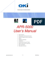 APR-5000 User Manual 7000-1370_D2