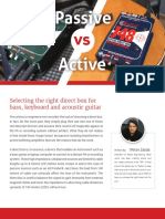 Active vs Passive Di Basics