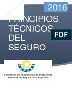 Manual de Principios Técnicos Del Seguro 2016