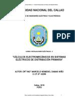 Cálculos Electromecánicos en M.T