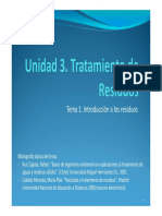 U3 T1 Introducción a Los Residuos TAS 17-18
