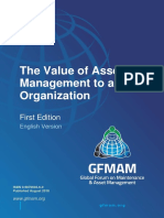 Gfmam the Value of Asset Management to an Organisation First Edition English Version
