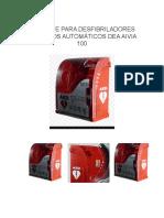 Gabinete Para Desfibriladores Externos Automáticos