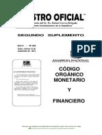 Texto Código Monetario-financiero