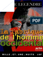 La Fabrique de l Homme Occidental