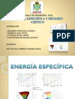 Energia Especifica y Regimen Critico - VERDADERO.pptx