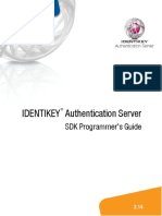 IDENTIKEY Authentication Server SDK Programmer's Guide