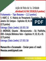 Fichamento 2018.1 - Uneb - Direito
