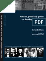 Medios Politica y Poder en Santiago Del Estero