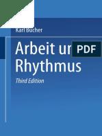 [Dr. Karl Bücher (Auth.)] Arbeit Und Rhythmus