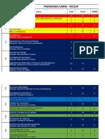 Cronograma de Cursos Grupo GA7