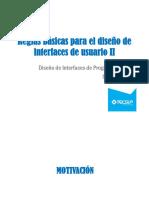03 Reglas Básicas Para El Diseño de Interfaces de Usuario II