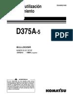 O&M D375a-5 180001-up ESAM021403