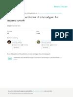 Amaro Antimicrobial Activities of Microalgae